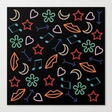 cool pattern Canvas Print