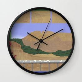 Ho2 No2 Wall Clock