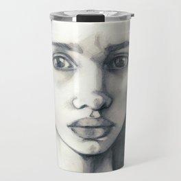 Pencil Drawing Travel Mug