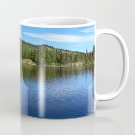 Blue Tones of Sprague Lake Coffee Mug