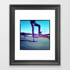 Blunt Framed Art Print