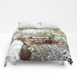 Staples and Portholes Comforters