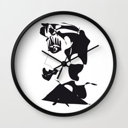 Baba Jaga Wall Clock