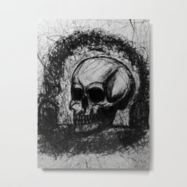 Doors of Mortality Metal Print