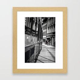 City Surfing Framed Art Print
