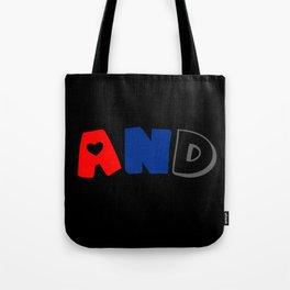 And (Polyamory) Tote Bag