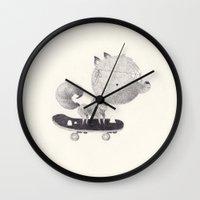 sun Wall Clocks featuring sun by yohan sacre
