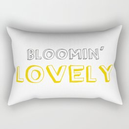 Bloomin' Lovely Rectangular Pillow