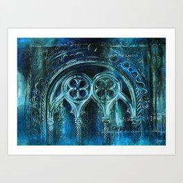The City Sinks Art Print