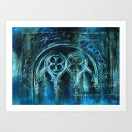 The City Sinks Art Print