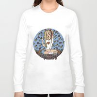 virgo Long Sleeve T-shirts featuring VIRGO by Iria Prol