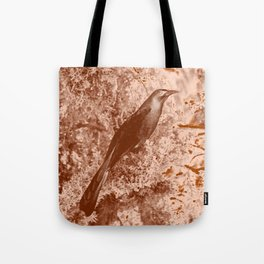 ghost raven Tote Bag