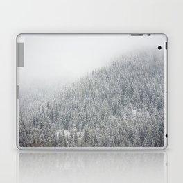 Snowy Pacific Northwest Forest Laptop & iPad Skin