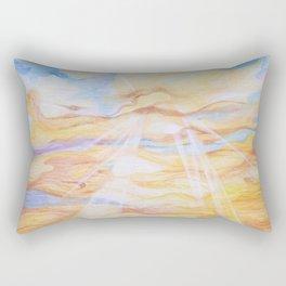 Sun Salutation Rectangular Pillow