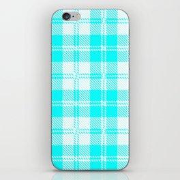 Tratan Style Pale Blue Backgrpund iPhone Skin