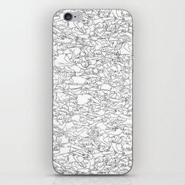 Crowd iPhone Skin