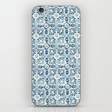 tile pattern IV - Azulejos, Portuguese tiles iPhone & iPod Skin