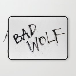 Doctor Who bad wolf Laptop Sleeve