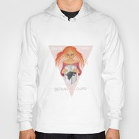 sansa stark Hoodies featuring Sansa Stark Defense Squad by laurarts