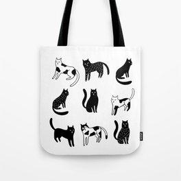 Cats print Tote Bag