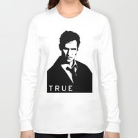 true detective Long Sleeve T-shirts featuring True Detective by Green'n'Black