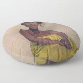 Felix Vallotton - Femme africaine Floor Pillow