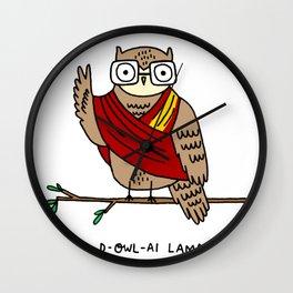 D-owl-ai Lama Wall Clock