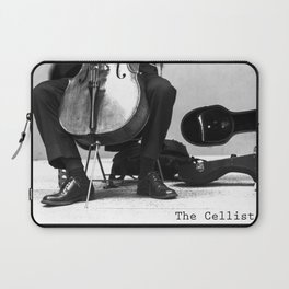 The Cellist Laptop Sleeve