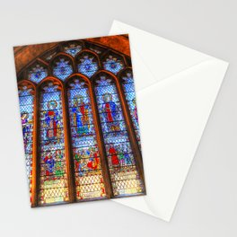 Bath Abbey Stained Glass Window Stationery Cards