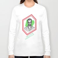 kevin russ Long Sleeve T-shirts featuring Kevin Baird by AnimatedWhale