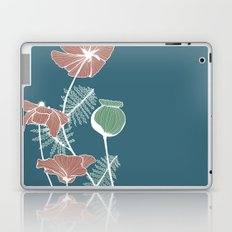 Poppies in Full Color Laptop & iPad Skin