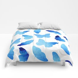 Watercolor Butterflies Comforters