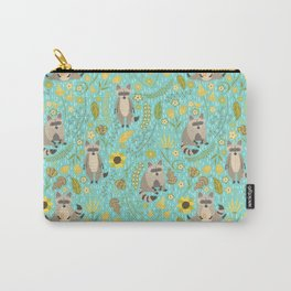 Cute raccoons Carry-All Pouch