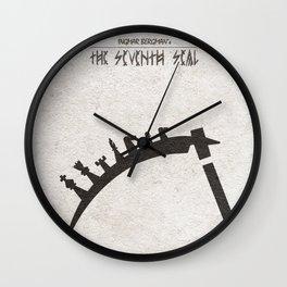 The Seventh Seal aka Det Sjunde Inseglet Wall Clock