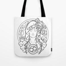 Zodiac Series   Cancer Tote Bag