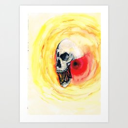 Out of the void Art Print