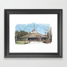 St. James Church, Davis Framed Art Print