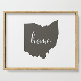 Ohio is Home Serving Tray