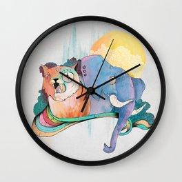 THAI FRIENDS Wall Clock