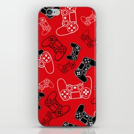 Video Games Red iPhone Skin