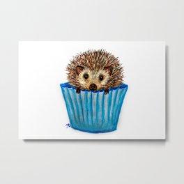 Prickle Muffin Metal Print