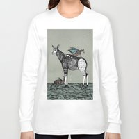 starry night Long Sleeve T-shirts featuring Starry Night by Kianna Kilgren
