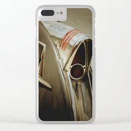 Classic Car Taillight Clear iPhone Case