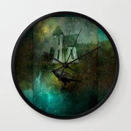 Crow House Wall Clock
