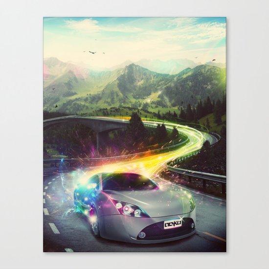 Superhighway Canvas Print
