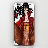 mulan iPhone & iPod Skins featuring Mulan by artwaste
