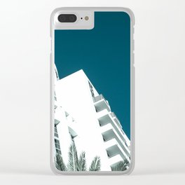 Art Deco Miami Beach #27 Clear iPhone Case