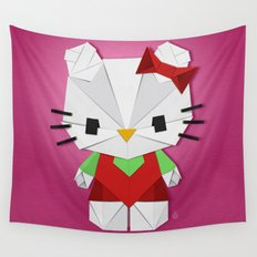 Catgami Wall Tapestry