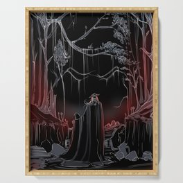 Gothic Tarot - The Fool Serving Tray
