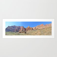 Wide Angle Watcher Art Print